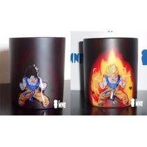 Taza Magica Goku Dragon Ball, Totoro, Sin Cara, Gato 3d