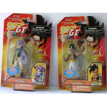 Dragon Ball Gt Trunks Y Uub Figuras En Blister Coleccionable
