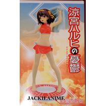 Haruhi Suzumiya Sexy Figura Con Toalla De Baño 19cm Sega