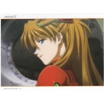 Postal Plastica D Azuka Langley De Evangelion Bandai Y2259 7