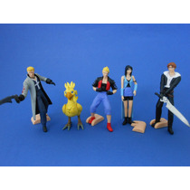 Final Fantasy Set De 5 Figuras Gashapon Marca Bandai