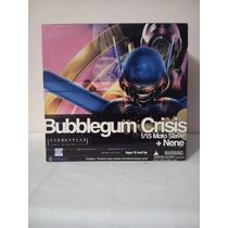 Figura Articulada De Nene De Bubblegun Crisis+moto Armadura