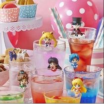 8pcsset Figuras Sailor Moon Decoradores De Vasosenvio Gratis