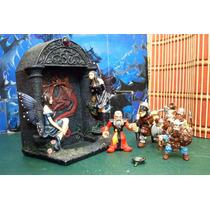 Lote Portal Dragon Diorama C 5 Figura Esc 1/18 Tsr Hobbies
