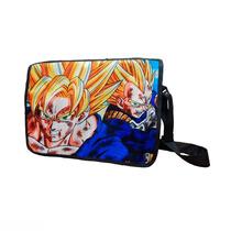 Dragon Ball Z Mochila De Portafolio Goku Vegeta
