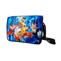 Mochila Escolar De Portafolio Dragon Ball Z Goku Freezer