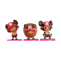 One Piece Gashapon Figuras Chopper 3 Piezas