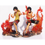 Figuras Anime One Piece Luffy Y Ace Brotherhood