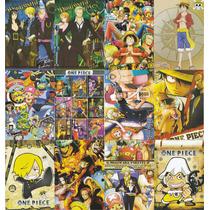 Coleccion De Arte Visual De One Piece Mod Op1 12 Cromos