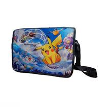 Pokemon Mochila Escolar De Portafolio Pikachu