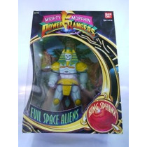 Mighty Morphin Power Ranger 9 Alien Espacio Evil - Rey Esfi