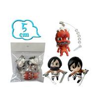 Shingeki No Kyojin Gashapon Figuras Mikasa Titan