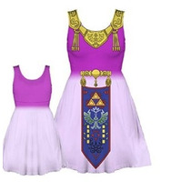 Tb Nintendo The Legend Of Zelda Juniors Costume Tank Dress