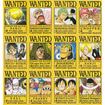 Coleccion De Arte Visual De One Piece Wanted Mod1 12 Cromos
