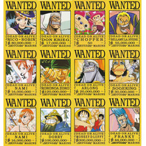 Coleccion De Arte Visual De One Piece Wanted Mod2 12 Cromos