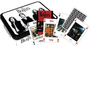 Naipe The Beatles Negro 104020
