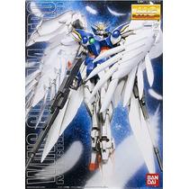 1/100 Mg Ban-dai Xxxg-00w0 Wing Gundam Zero Custom Mobile Su