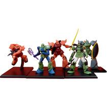 Coleccion De Minifiguras De Mobile Suit Gundam Bandai Msg 04
