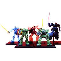 Coleccion De Minifiguras De Mobile Suit Gundam Bandai Msg 01