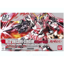 Unicorn Gundam Destroy Mode Titanium Finish Escala 1/144