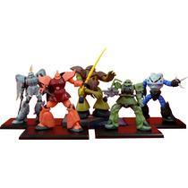Coleccion De Minifiguras De Mobile Suit Gundam Bandai Msg 09