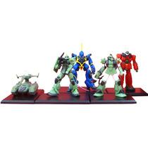 Coleccion De Minifiguras De Mobile Suit Gundam Bandai Msg 02