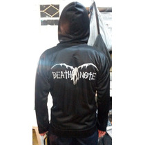 Sudadera Death Note Negra Anime Cosplay Talla-mediana