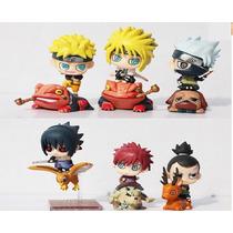 Naruto Shippuden Figuras Set 6 Figuras Mini Colección