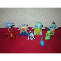 Lote De 8 Figuras De Pokemon Marca Nintendo Y Tomy