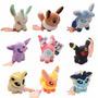 Set Peluches Pokemon Eevee Con Sus Evoluciones Sylveon