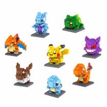 Pokemon Figuras Mini Blocks Lego Charmander Pikachu (8 Pzas)