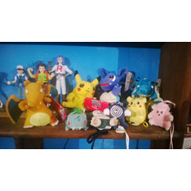 Lote De Hermosos Peluches Originales De Pokemon