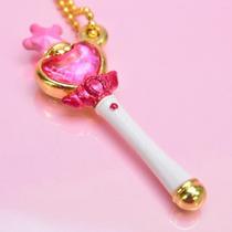 Sailor Moon Llavero Metalico - Chibimoon Cetro - Bandai