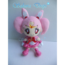 Peluche Sailor Moon - Chibi Moon - 15 Cm De Alto - Original