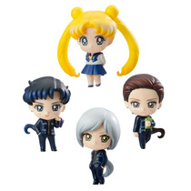 Petit Chara Sailor Moon Three Lights Boxset 4 Pza / Preventa