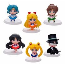 Sailor Moon Figuras - 6 Sailor Scouts