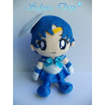 Peluche Sailor Moon Amy Mizuno (mercurio) 15 Cm - Original