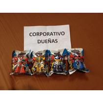 Lote De 4 Playskool Heroes Transformers Rescue Bots Figures