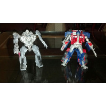 Transformers Rotf Optimus Prime Vs Megatron Fast Action