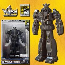 Voltron Sdcc 2010 Exclusive Firmado Edicion Negra Toynami