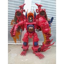 Transformers Megatron Dragon Rojo Transmetals Beast Wars