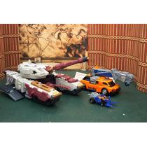 Lote 3 Figura Transformers Armada Del 2003 Ve Anuncio