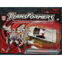 Prowl Transformers Robots In Disguise Deluxe Hasbro 2001