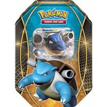 Tb Pokemon Blastoise Ex Power Trios Tin Card Game