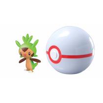Tb Pokémon Clip & Carry Poké Ball Chespin + Premier Ball