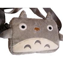 Totoro Bolsa De 35cm Amplia Pachoncita Y Bordada Super Kawai