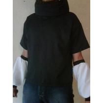 Sasuke Uchiha Cosplay Camisa Playera Naruto Shippuden
