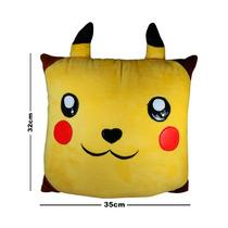 Pokemon Peluche Almohada 32x35cm Pikachu Ash Pichu