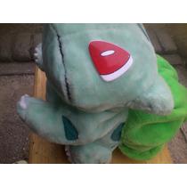Peluche Pokémon Bulbasaur De 60 Cm De Largo Usado!!