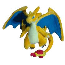 Peluche Mega Charizard Y Pokémon 28cm Aprox. Nintendo